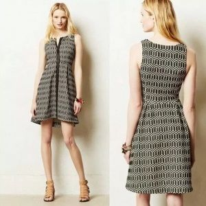 Leifsdottir Tonnelle Geometric Dress